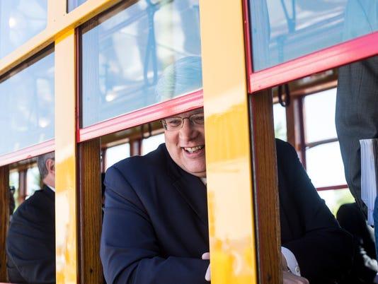 Main Street Trolley rolls again