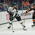 Michigan State hockey starts final home weekend with 4-2 win over No. 16 Penn State