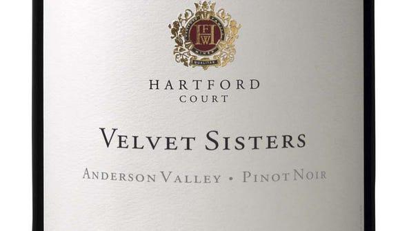 Hartford Court Velvet Sisters Anderson Valley pinot