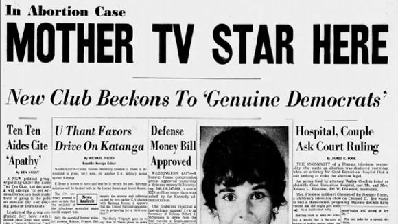The front page of the Arizona Republic on July 26, 1962.