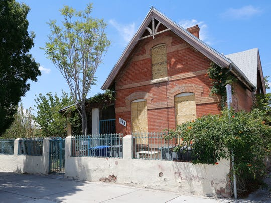 This 19th century Victorian-era home at 315 Chihuahua