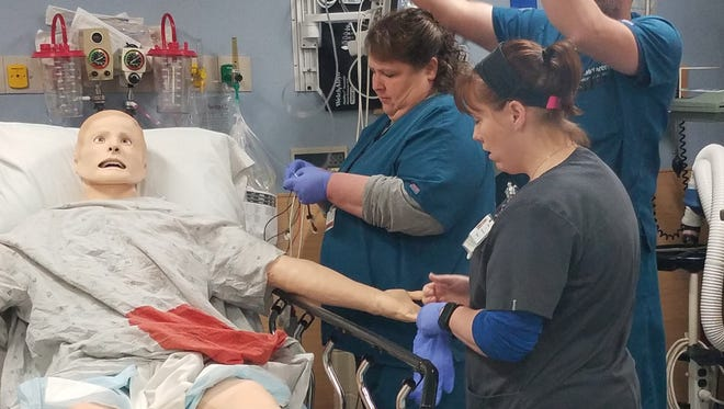 SimMan 3G is a real-life patient simulator can help clinicians improve their time management, decision-making, and communication with fellow co-workers.