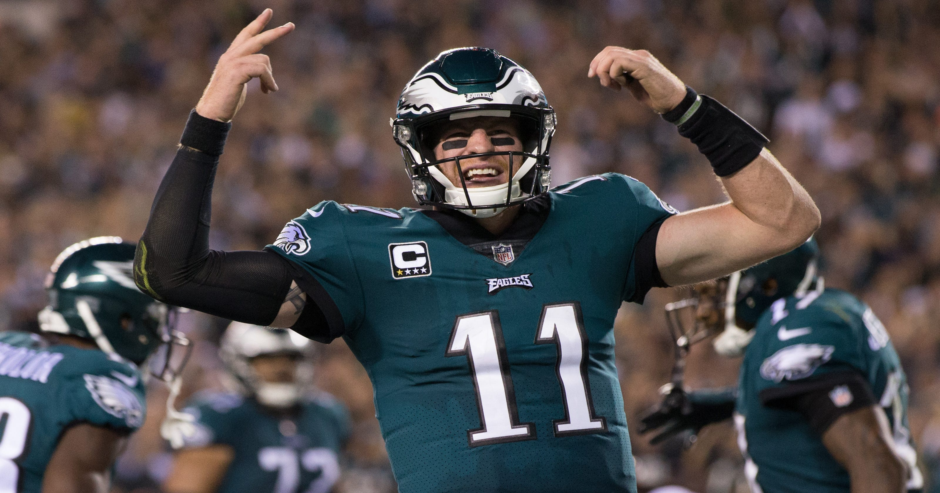 3322085e4 Eagles QB Carson Wentz tops NFL jersey sales as MVP chatter picks up