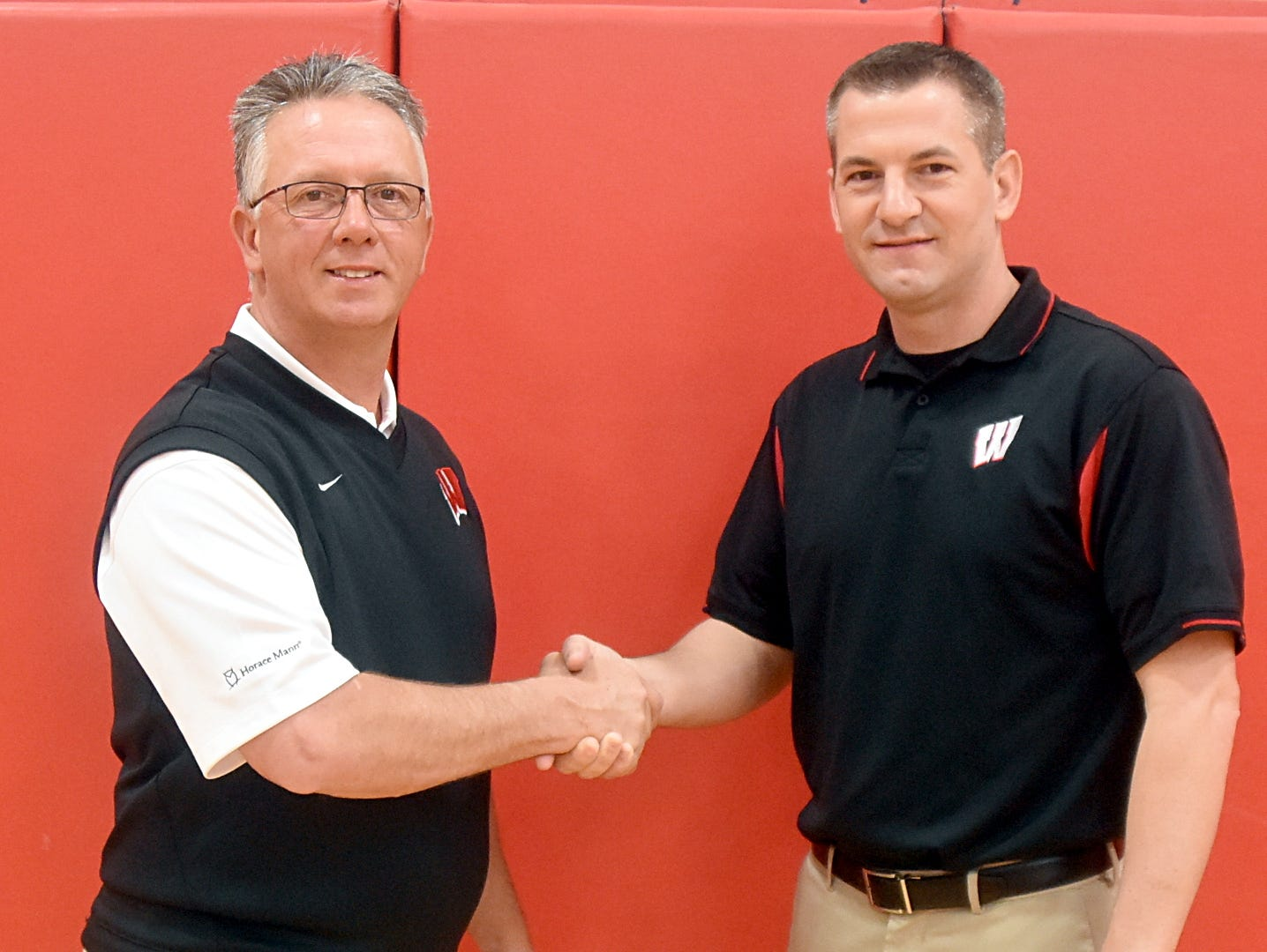 Westmoreland High principal Rick Duffer named Corey Fitzpatrick as the school's new head boys basketball coach on Friday morning.