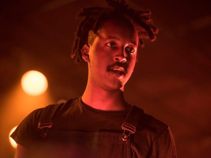 Milwaukee rapper WebsterX headlined Turner Hall Ballroom