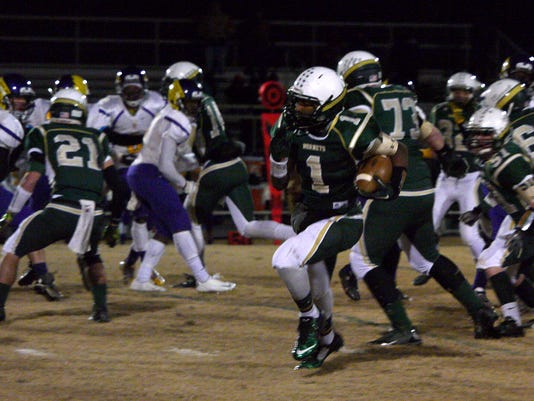 Prince Edward County at Wilson Memorial High School Football playoffs