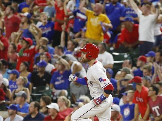 MLB: Colorado Rockies at Texas Rangers