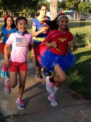 The Superheroes 5K not only involved physical activity