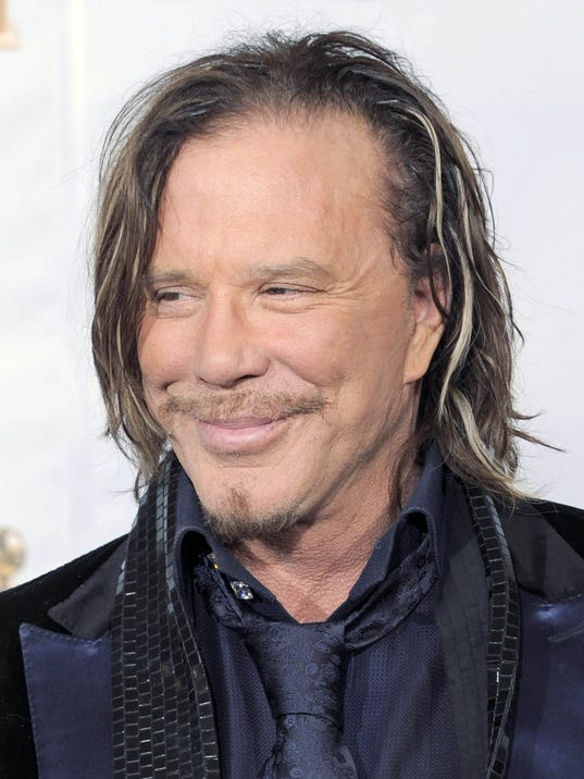 Mickey Rourke movie, '...