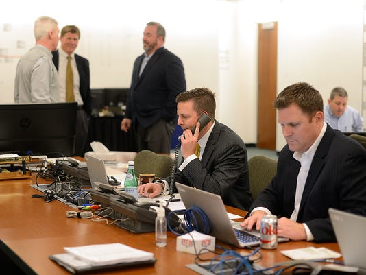 GPG Packers war room NFL Draft