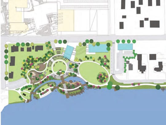 A concept drawing shows possible plans for the St.