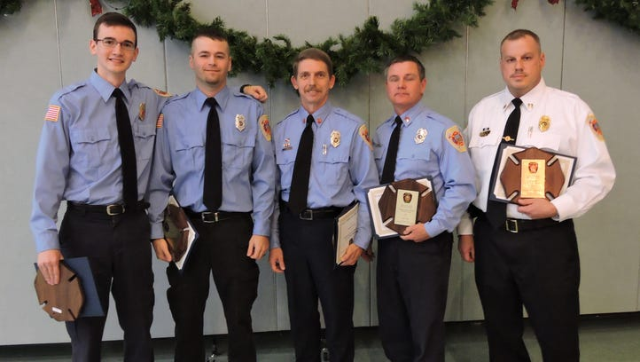 Glassy Mountain retiring commissioners were recently honored for their service.