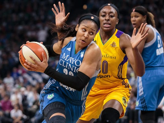 WNBA: Los Angeles Sparks at Minnesota Lynx