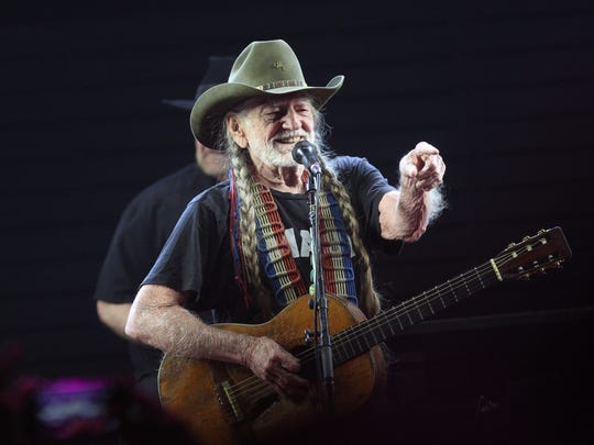 Willie Nelson performs on the Palomino Stage during