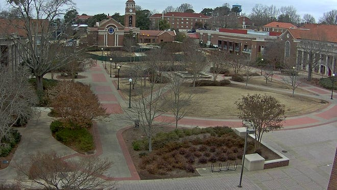 The University of Mississippi campus