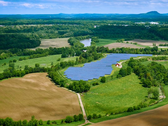 Hidden in plain view: A 15-acre, 2.2 MW solar array has occupied a field at Whitcomb Farms in Essex Junction since 2014.