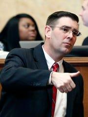 House Judiciary B Committee Chairman Andy Gipson, R-Braxton,