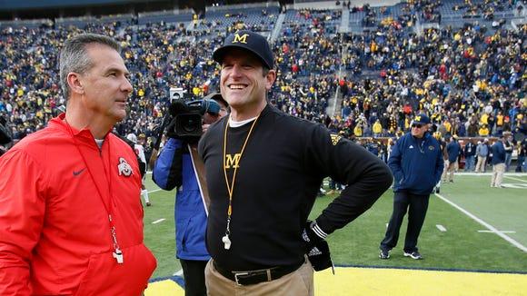 Michigan coach Jim Harbaugh