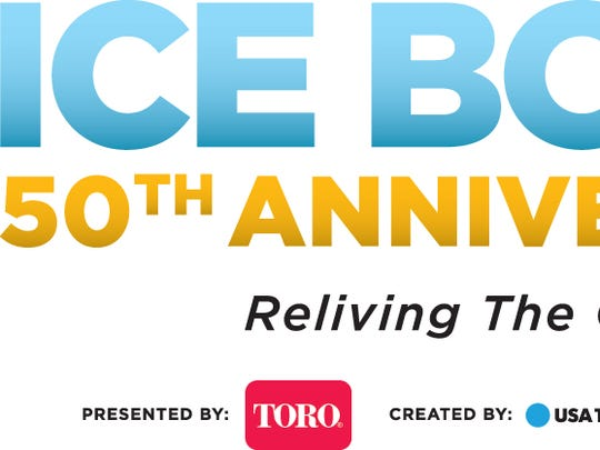 Ice Bowl 50th anniversary logo