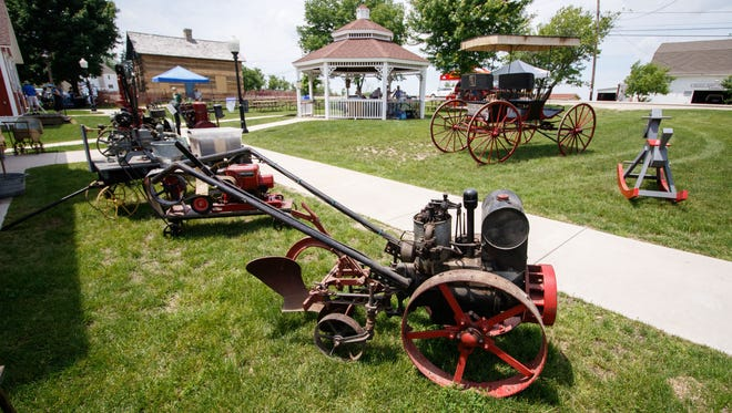 The New Berlin Historical Park will be the site of the Historical Society's open house and ice cream social on July 14. The park features a variety of rescued, restored or re-created vintage buildings, equipment and historical items.