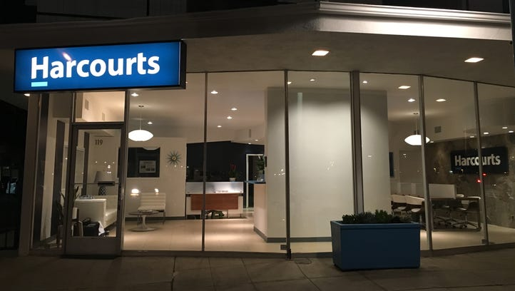 The Harcourts office in downtown Palm Springs opened