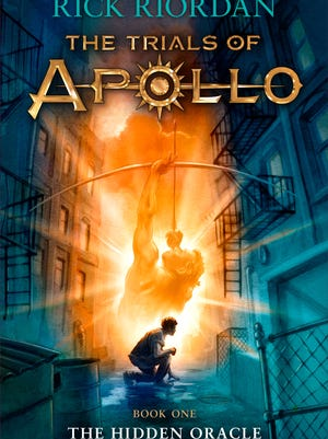 'The Trials of Apollo: The Hidden Oracle' by Rick Riordan