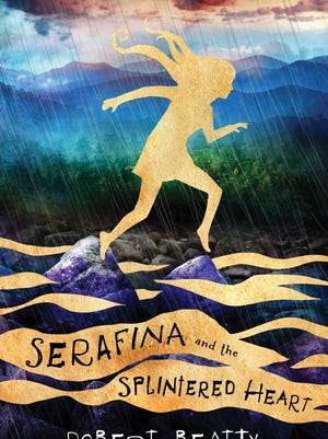 """""""Serafina and the Splintered Heart"""" is the third book by Robert Beatty in the series."""