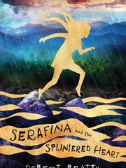 """Serafina and the Splintered Heart"" book cover"