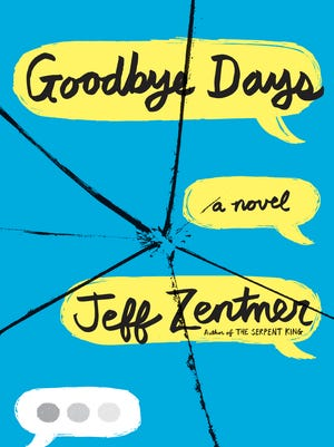 """Jeff Zentner will be at Malaprop's to discuss his young adult novel """"Goodbye Days."""""""