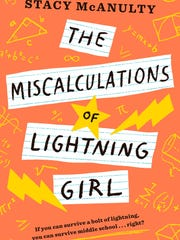 "North Carolina author Stacy McAnulty's book ""The Miscalculations of Lightening Girl."""