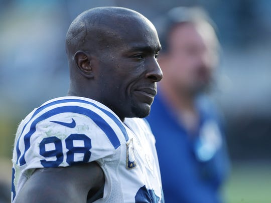 Robert Mathis is the Colts' career sacks leader. He'll also be 35 this season.