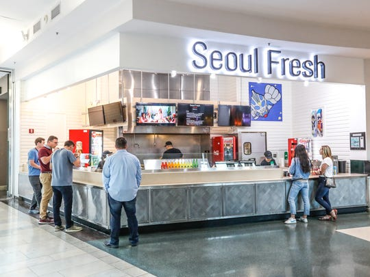 Circle Centre Mall in downtown Indianapolis recently updated its food court.