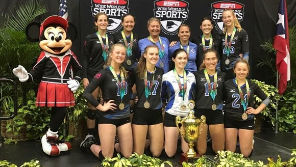 Xcel Volleyball Performance's 17X Select team finished