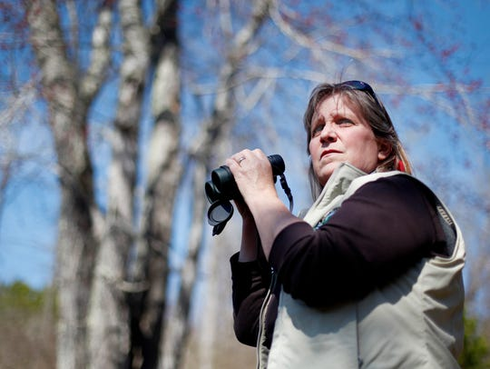 Sheryl Bryan, fisheries and wildlife biologist with