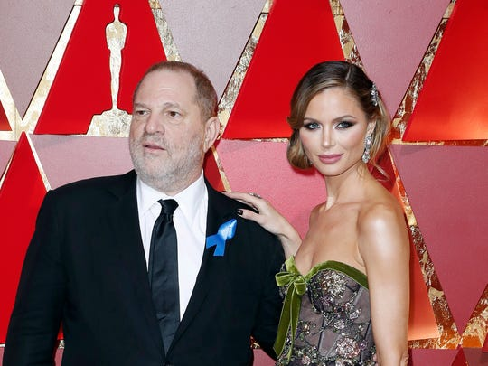 Fashion designer Georgina Chapman, who left husband
