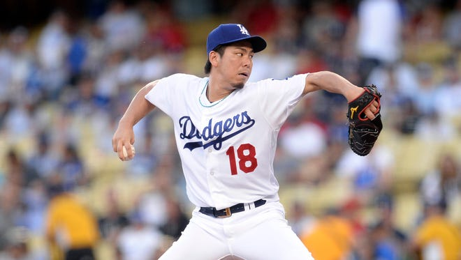 Maeda tossed seven shutout innings Tuesday against the Angels.