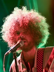 Wolfmother perform on the Palladia Stage at the Kickoff Party at Hangout Music Fest.