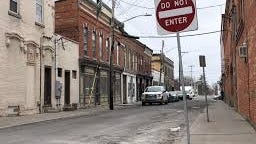 """The """"do not enter"""" sign may apply to motorists on Phoenix Street in downtown Canandaigua, but pedestrians soon may be encouraged to come and stay awhile and enjoy outdoor dining and entertainment on the city street."""