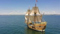 The Mayflower II is in the midst of sea trials, where the crew is learning how it handles in different winds and currents - a baptismal moment for any vessel preparing to challenge nature on the open water.