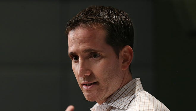 Howie Roseman, the executive vice president of football operations for the Philadelphia Eagles, faces many difficult decisions as the NFL trade deadline looms at 4 p.m. Tuesday. AP FILE PHOTO
