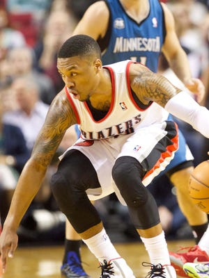 Damian Lillard's 32 points power the Trail Blazers to a win over the Timberwolves.