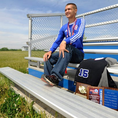 Logan Chamberlin, of Zane Trace High School, was nominated