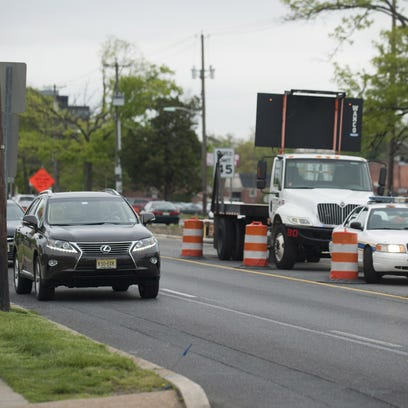 Springtime means the return of construction on Route