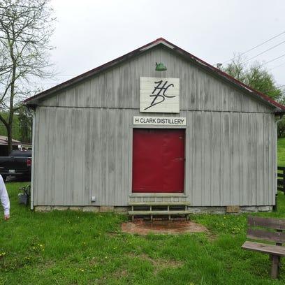 Heath Clark, owner of H Clark Distillery, projects