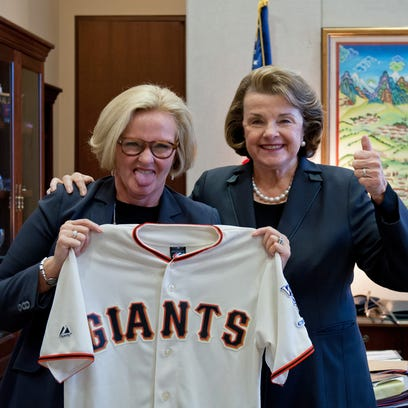 Sen. Claire McCaskill made good on a bet with California