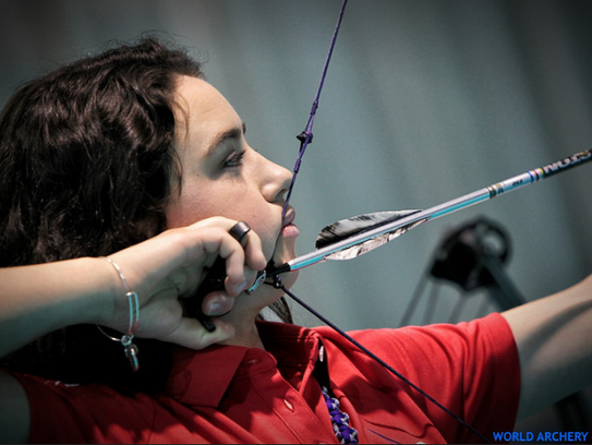 MSU's Emily Bee, 20, said she believes archery teaches