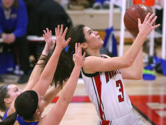 Homestead Girls Basketball vs Germantown