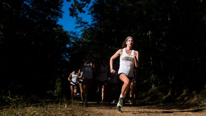 Senior Olivia Gardner raced cross country and track, where she earned all-region honors in mile, 3,000 and 5,000-meter runs.