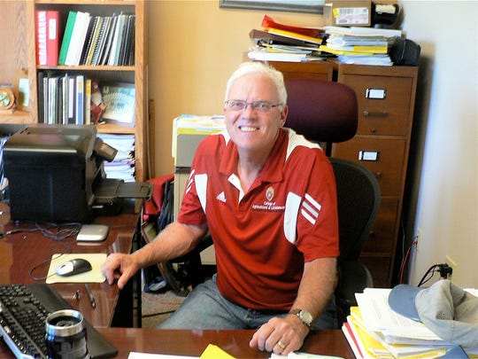 Dwight Mueller is director of the vast UW-Madison Agricultural Research Station system.