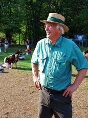 South Burlington Dolphins team founder Rene LaBerge, now 75, of South Burlington at  Jaycee Park in South Burlington on Sept. 13, 2011.